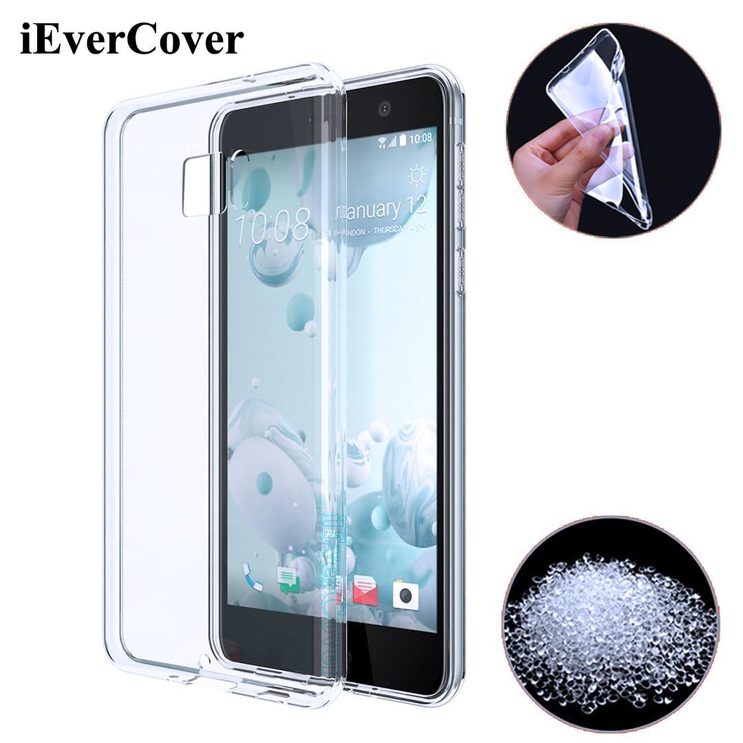bilder für 10 Stücke für HTC U Ultra Fall, Premium Soft Clear Gel TPU Abdeckung für HTC U Ultra 5,7 zoll Smartphone Rückseite Silikon Haut