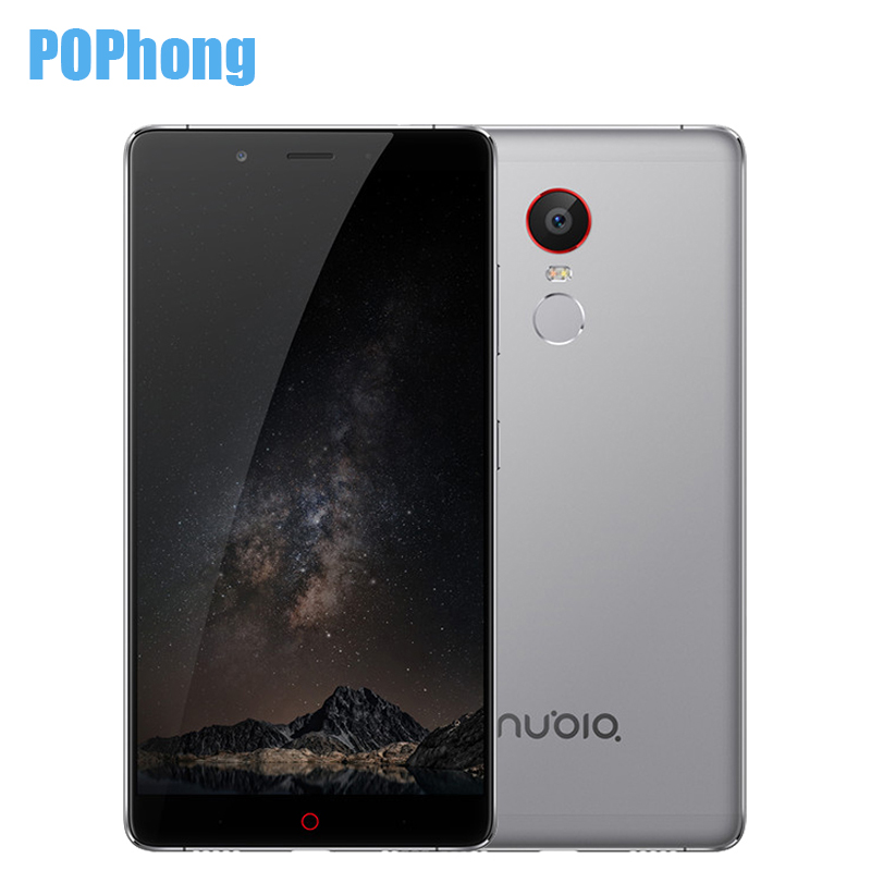 Original ZTE Nubia Z11 Max 6.0 inch Mobile Phone 4GB RAM Snapdragon 652 Octa Core 64GB 16MP Dual SIM 4000mAh