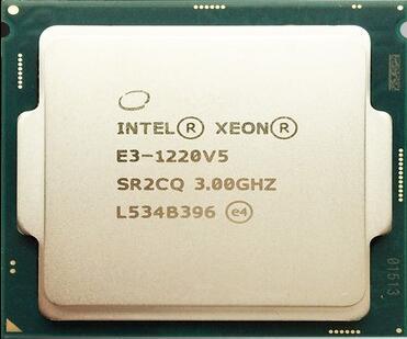 Оригинальный Intel Xeon E3-1220V5 повседневная ПРОЦЕССОРА 3.0 Г четырехъядерный процессор че-нить 1151-pin официальная версия
