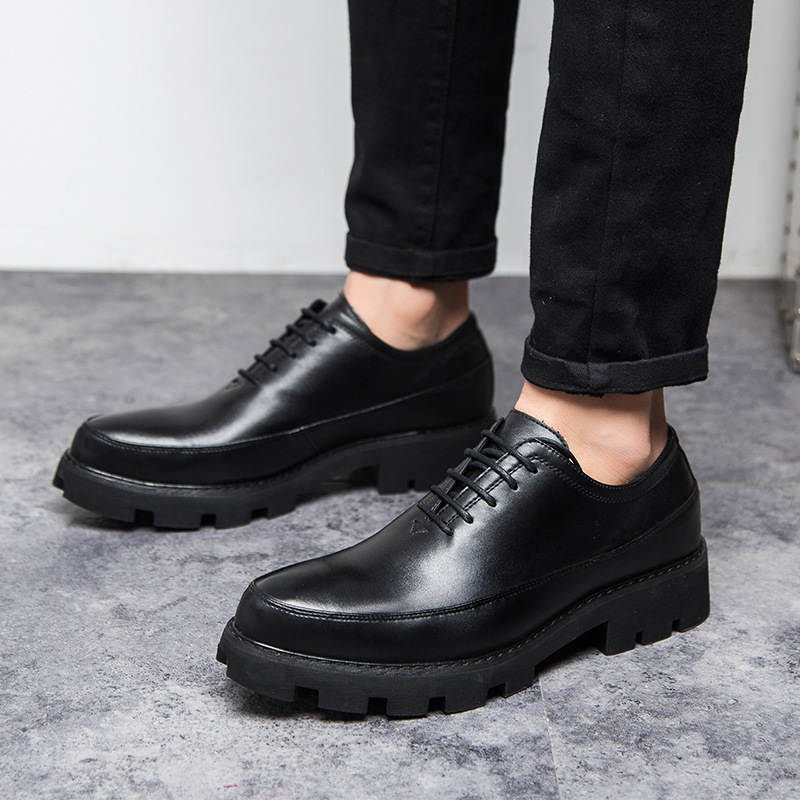 MYCOLEN Hot Sale Spring Summer Wedding Shoes Men Comfortable Male Leather Lace Up Slip On Man Shoes Zapato Hombre Piel lc model toys saint seiya cloth myth ex gold saint capricorn shura action figure classic collection toys brinquedos