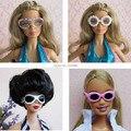 Смешивать Различные Стили Моды Многоцветный Кукла Очки Аксессуары Для Барби Kurhn Кен Кукла Новогодний подарок 2016 1 шт. Игрушки для девушки