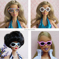 Mix Different Styles Fashion Multicolor Doll Sunglass Accessories For Barbie Kurhn Ken Doll Gift New 2016 1 pc Toys for Girls