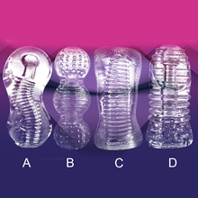 Men Masturbator Male Silicone Realistic Vagina for Man Sex toys Delay trainer adult supplies device Four modes girl-young women