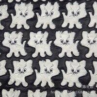 PV бархат лазерная вышивка одежда Фланелевое покрывало плюшевая ткань