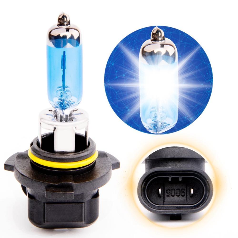 2Pcs HOD HB3 9005 100W 2400lm 5000 6000K Car Halogen Headlights Light Ultrabright white light Silver DC12V in Car Headlight Bulbs Halogen from Automobiles Motorcycles