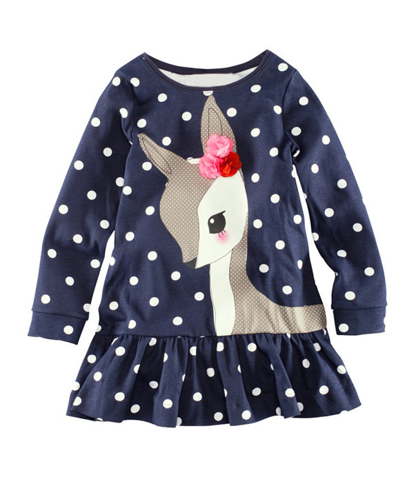 T-Shirts Long-Sleeve Baby High-Quality Children Top Cotton for 1-6 Year. BJT221 Tees