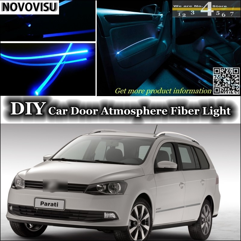 US $21 85 13% OFF|NOVOVISU For Volkswagen VW Gol Parati Pointer Saveiro  Voyage G2 G3 G4 G5 interior Ambient Light Atmosphere Fiber Optic Light-in