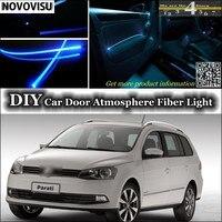 NOVOVISU Voor Volkswagen VW Gol Parati Pointer Saveiro Voyage G2 G3 G4 G5 interieur Omgevingslicht Sfeer Glasvezel Licht