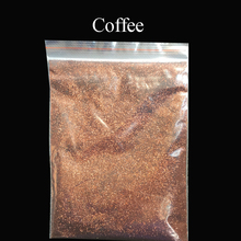 Collorful glitter coffee applied in printing ink paint cosmetics plastic leather handicrafts ornaments toys coating