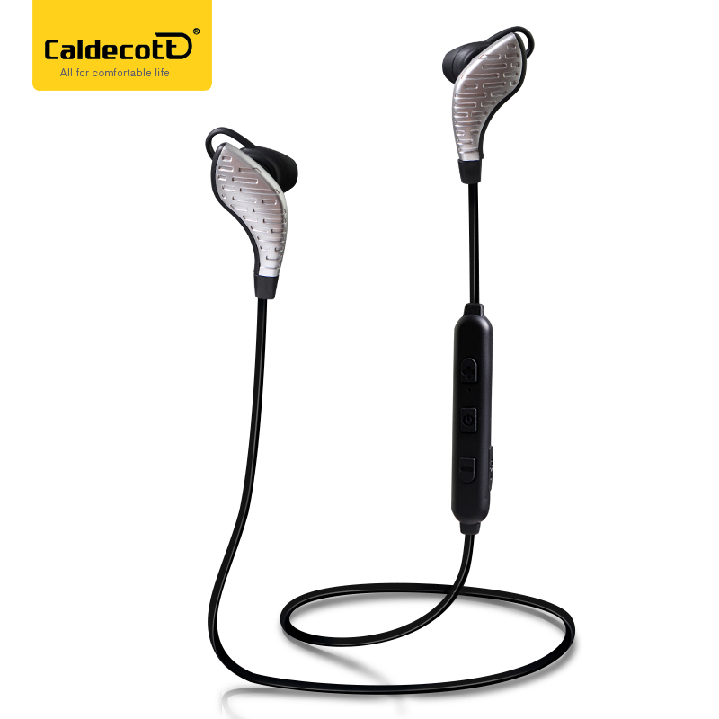 Caldecott X7 Sports Running Bluetooth Earphone Stereo Wireless In-Ear Noise Calcelling Portable Studio Music Headsets for Phone
