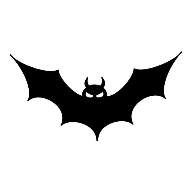 15.2*7.7CM Halloween Bat Vinyl Car Sticker Cool Car Styling Decals ...