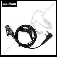 5r uv מיקרופון האוזנייה acosutic צינור אוזניות סמויה עבור Kenwood ו- UV-5R BF-888S Baofeng wouxun (1)