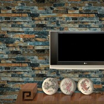 Stein Ziegel 3d Tapete Schlafzimmer Wohnzimmer Hintergrund Wand
