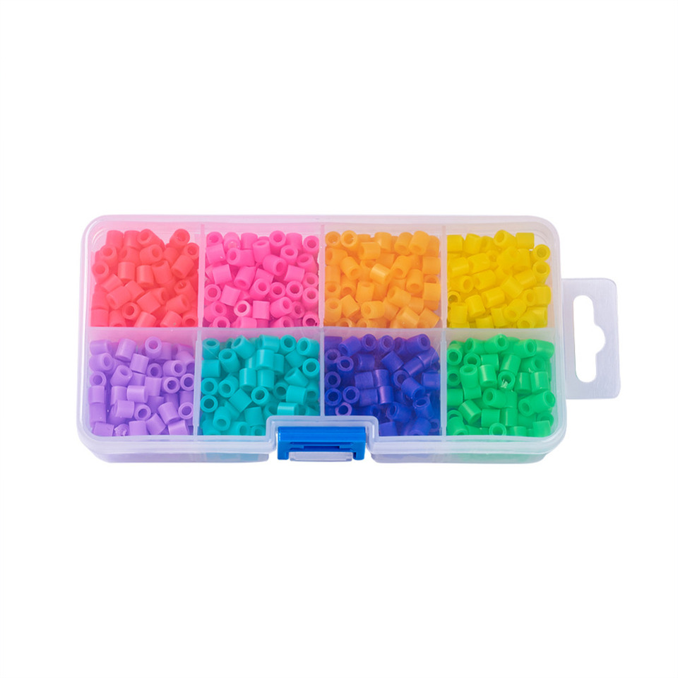 approx 1100pcs/box 5x5mm mixed candy pure color tube pe diy melty ... fuse box spacer  aliexpress