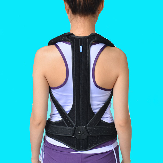 Adult Humpback Spine Orthosis Appliance The Elderly Correct The Scoliosis Orthosis Convenient Support Tall And Straight Posture
