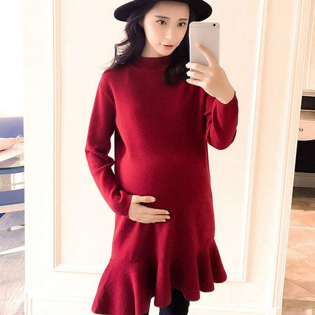 Unico Hem Di Maternità Più Vestito Balza Abbigliamento Nuovo Disegno PXiukZ