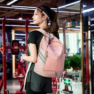 Image 4 - 独立した靴のバックパック服パッキングキューブトラベルオーガナイザーバッグ防水大容量学生バッグスクールポーチアクセサリー
