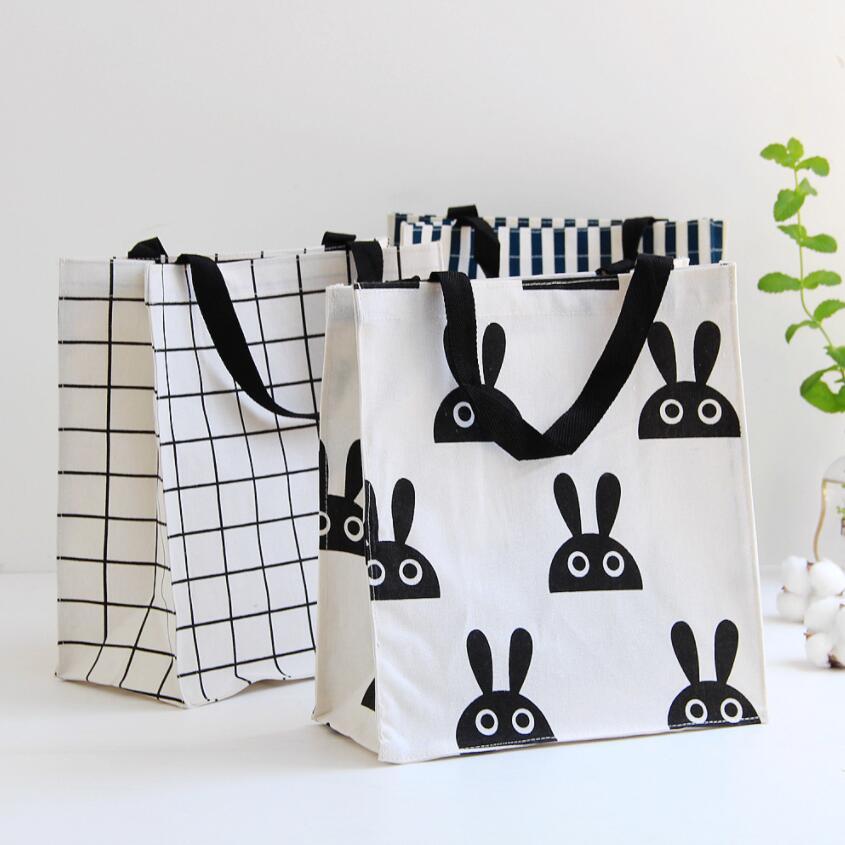 New Portable Cloth Laundry Hamper Storage Basket Home Decoration Shopping Bag Kids Toy Organizer Laundry Bag AU982