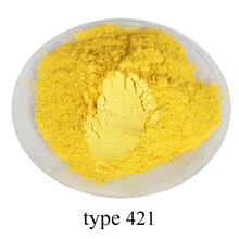 type 421 Super shiny pearl powder, colorful  nail, ink, toys, handicrafts, fishing rod dyeing, 50 grams per bag