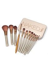 12pcs NK3 Natural Makeup Powder Brushes Eyeshadow Foundation Blending Tool Set