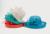 Marcas de Calidad de Moda de Estilo Británico Flor Sinamay Pluma Satén Floral Grande de Lino Del Sombrero Del Verano de Las Mujeres Recorrido de la Playa Del Sol Sombreros F