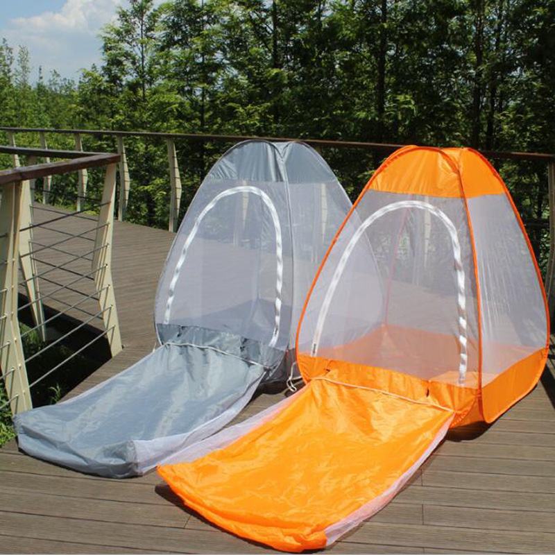 New Automatic Pop up Indoor Outdoor Anti Mosquito Tent C&ing Fishing Beach Insects Proof Net Tent Sit Lay Meditation Yoga Net-in Tents from Sports ... & New Automatic Pop up Indoor Outdoor Anti Mosquito Tent Camping ...
