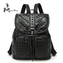 Большая натуральная кожа рюкзак женщины рюкзак из натуральной кожи, подлинная натуральной кожи женщины рюкзак