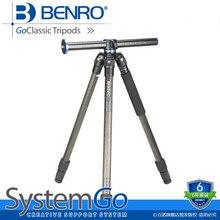 купить BENRO 1.58KG Portable Professional Camera Tripod 3 Leg Section Tripod For SLR Cameras No Head GoClassic Tripods GC257T дешево