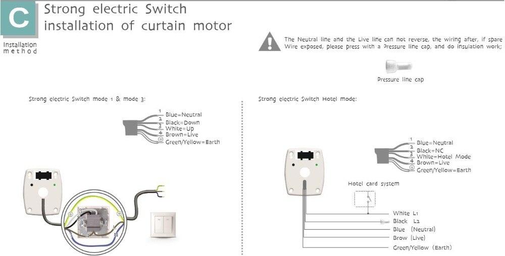 elétrica, dooya motor dt82tv, 5 fios motor, entrega gratuita