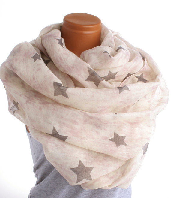 Aliexpress Com Buy Pink Tie Dye Infinity Scarf With Grey