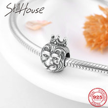56995a505 Fashion 925 Sterling Silver Majestic Lion king Beads For Jewelry making Fits  Original Pandora charms Bracelets Pendant