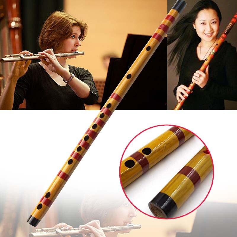 1 шт. бамбуковый музыкальный инструмент для начинающих 47 см бамбуковая флейта Вертикальная флейта музыкальный инструмент деревянный цвет