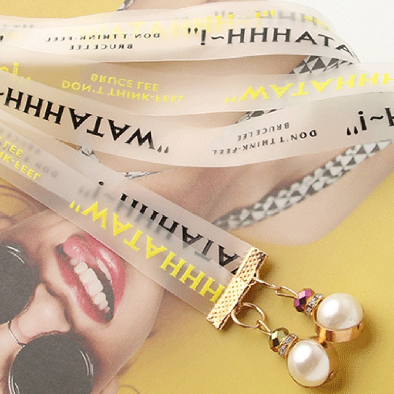 Women Fashion Belt Hip High Waist TPU Letter Print Narrow Chunky Fringes Pearl Pendant(China)