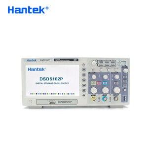 Image 2 - Hantek DSO5102P Digital Storage Oscilloscope Portable USB Osciloscopio Handheld Oscilloscopes 2 Channels 100MHz 1GSa/s 40K
