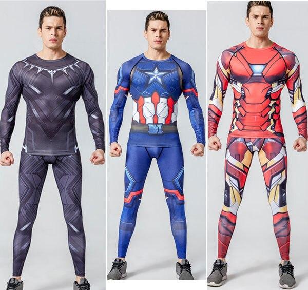 Забавные футболки с 3D принтом Дэдпул, мужские костюмы для косплея, компрессионная майка с длинным рукавом, одежда для фитнеса, топы для мужч