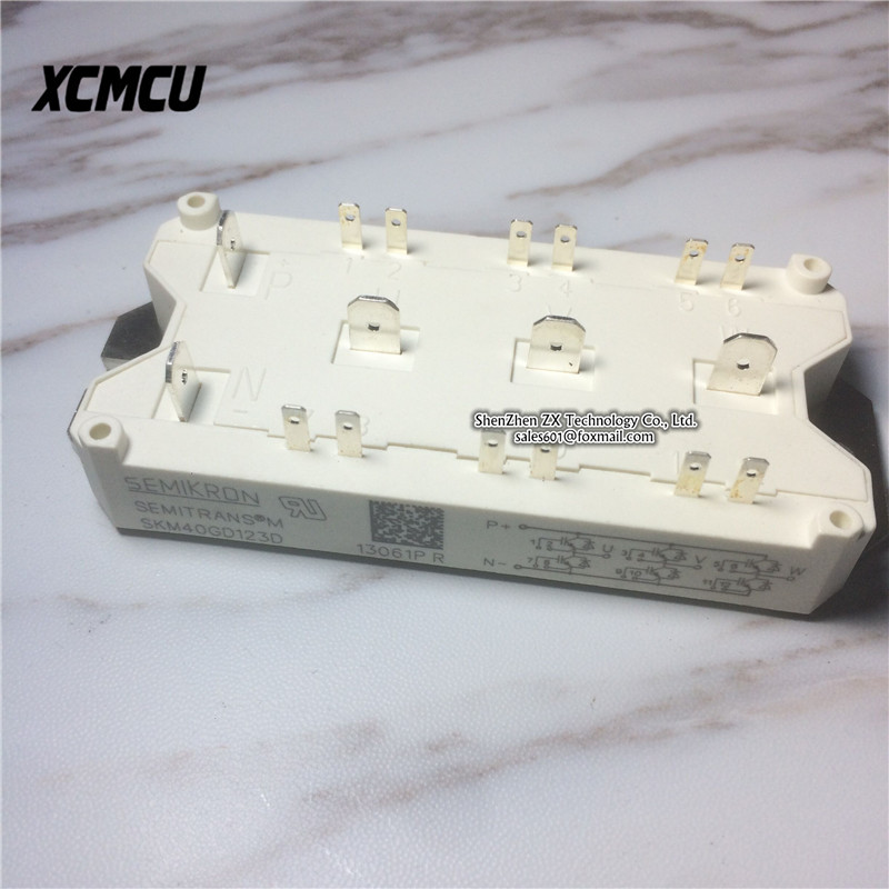 skm40gd123d SKM40GD IGBT power module new original in stock ~ 7mbp75ra120 05 genuine power igbt module spot xzqjd