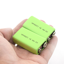 1/2/4 Pieces High Quality 9 V 1200 MAh Rechargeable Ni-MH Battery For Interphone Smoke Alarm Car Toys 9V Nimh Batteries Replace цены онлайн