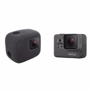 Image 4 - ORBMART Sponge Foam Cover Case Wind Noise Reduction Windshield Enhanced Audio Capture For Gopro Hero 5 6 7 8 Black Sport Camera