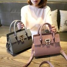 Freies verschiffen, 2017 neue trend frau handtaschen, mode umhängetasche, retro Koreanische version frauen tasche, solid color nubuk klappe.
