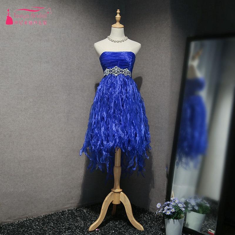 Genial Royal Blue Homecoming Kleider Liebsten Quaste Kristall Cocktail Party Kleider Sparkly Vestido De Festa Zhm058 Weddings & Events