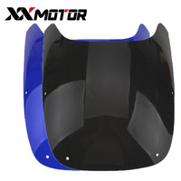 Motorcycle Windshield High Quality PC Materid Windscreen Shroud Fairing For Yamaha FZR400 Black Host Motorcycle Accessories