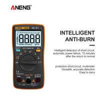 ANENG AN8002 Multimetro Digitale 6000 Conta ZT102 multimetre transistor tester profesional voltimetro amperimetro digitale AC/DC