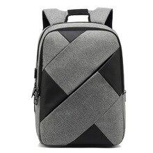 купить abay USB Charge Anti Theft Backpack for Men 15.6 Inch Laptop Backpacks Fashion School Bag Travel Bag Pack Nylon Male Bags по цене 2527.09 рублей