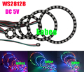 WS2812B 5050 RGB LED 1 8 12 16 24 32 Bits Ring Lamp Light with Integrated Driver