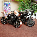 Best Kids Birthday Gfit Fashion Ancient Metal Motocycle Model Vehicle Toys for home decor
