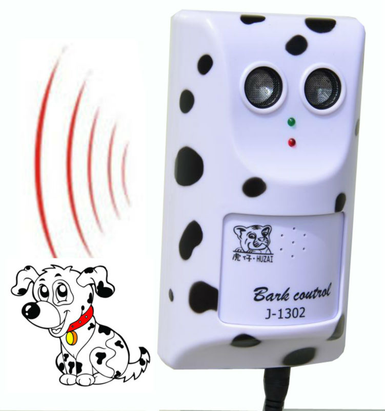 Tiger Cub Bark Control J-1302 j1302 Ultraschall Hund Bellen Wall Bark Control Pet Barking Control Freies Verschiffen 1pc