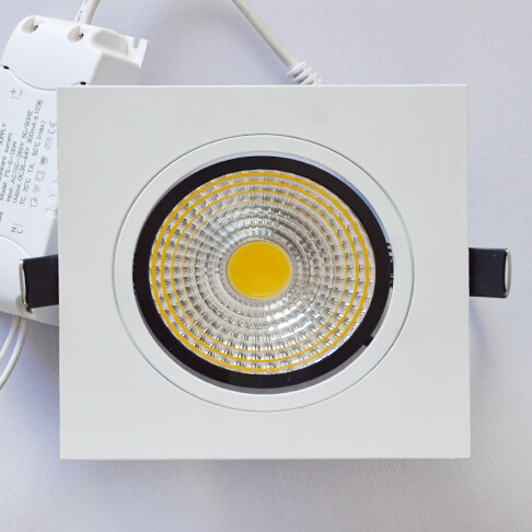 Factory direct sale High Quality Dimmable LED Downlight COB 10W 15W Dimming LED Spot Light LED Ceiling Lamp Free Shipping ...