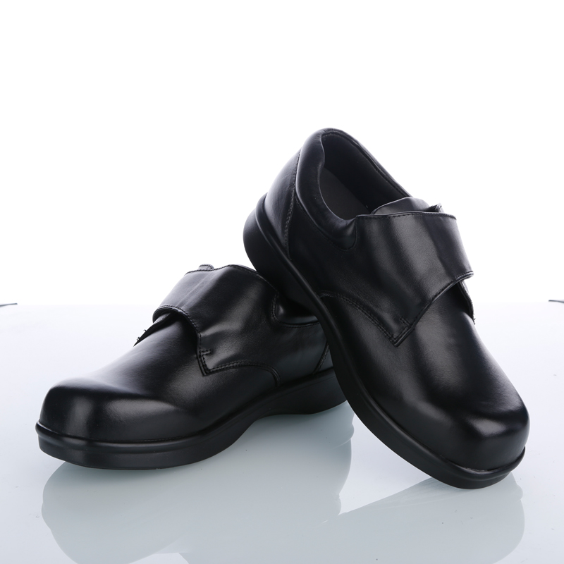 Free Shipping Men's Diabetic shoes Daily Casual Health Care Orthotics Shoes Confortable Diabetic Products Genuine Comfortable diabetic 10