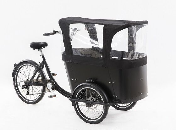 Good Used Kids Pedal Version Or Electric Bicycle Bike Cargo Tricycle Bike Street Food Cart