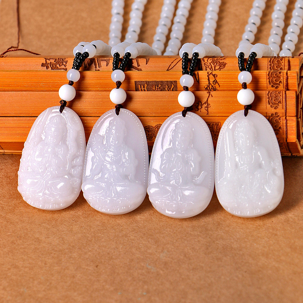 Natural Healing Crystal Carving Buddha Necklace Vintage Ethnic Buddhist Bead Statement Necklace Women Men Christmas Gift JewelryNatural Healing Crystal Carving Buddha Necklace Vintage Ethnic Buddhist Bead Statement Necklace Women Men Christmas Gift Jewelry